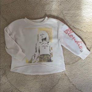 Blondie baby sweatshirt🤟🏼Junk Food toddler 12 mo